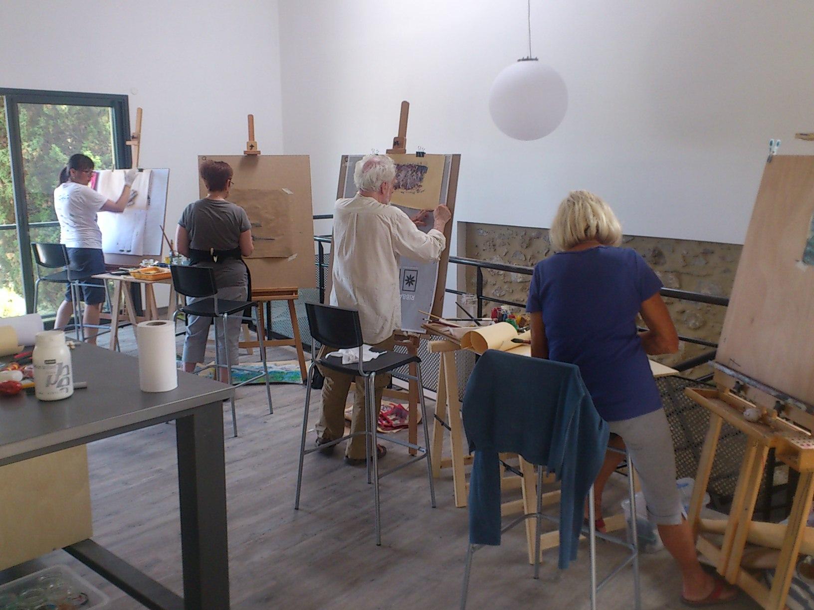 Atelier d art et peinture Languedoc